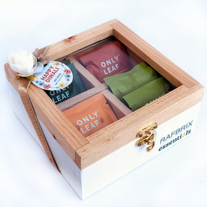 green tea gift box for Diwali corporate gifting in Delhi
