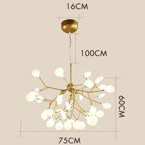 Lustre Contemporain Led <br> Contemporaneo