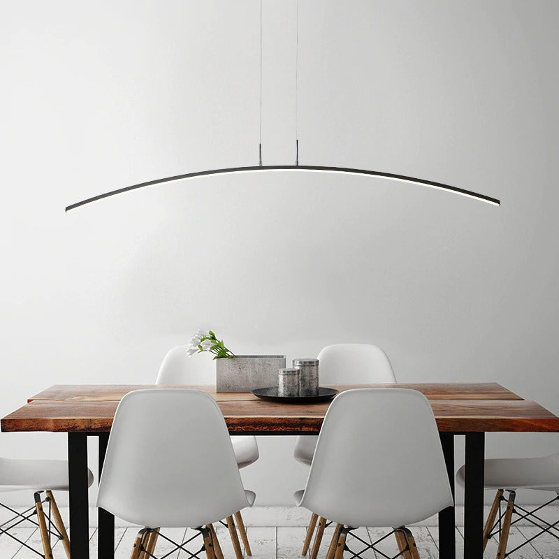 Lustre Contemporain Salon <br> Curva