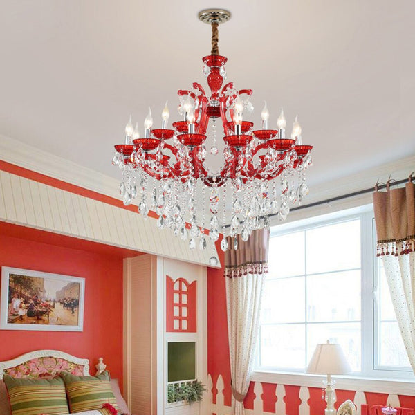 Lustre Rouge Baroque <br> Rosso