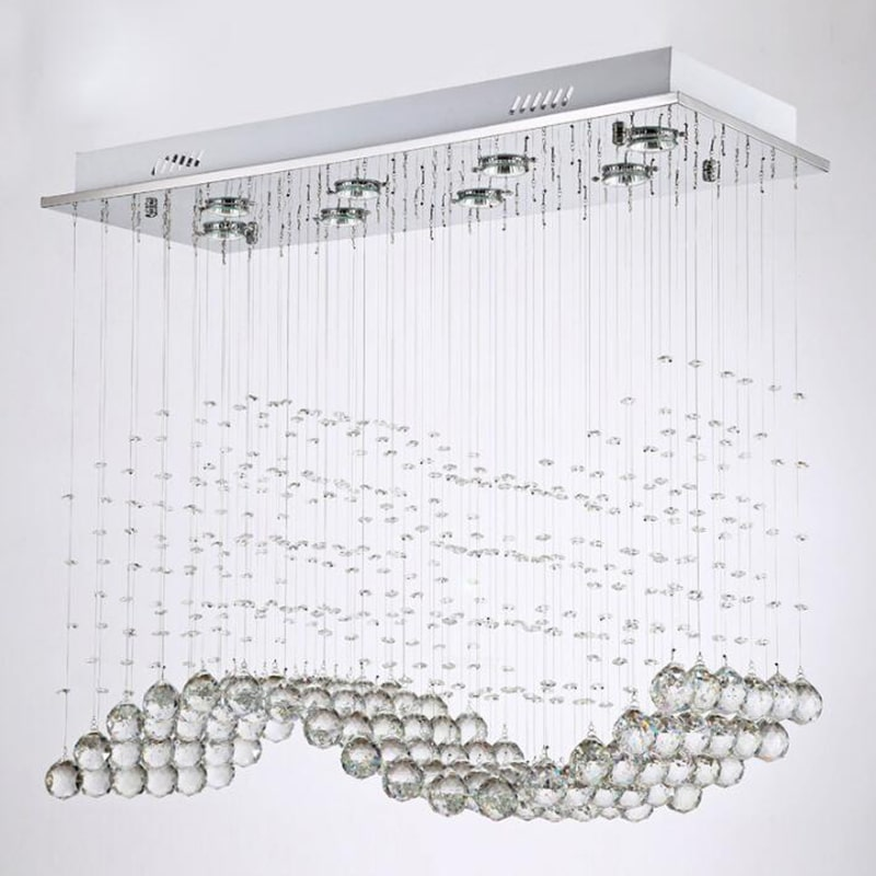 Lustre Suspension Chrome <br> Perline