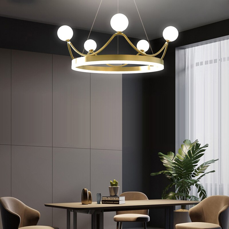 Lustre Couronne Led <br> Maestoso