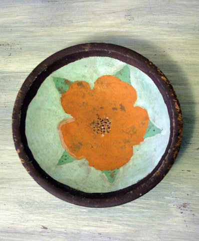 Flower Folk Art Bowl