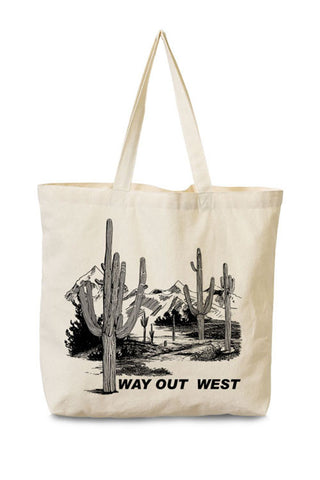 Way out West Tote