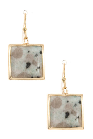 Desert Square Earrings