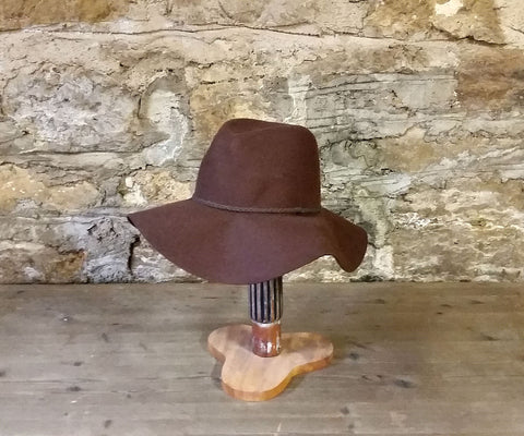 HAT: Wool Floppy Cowboy Hat