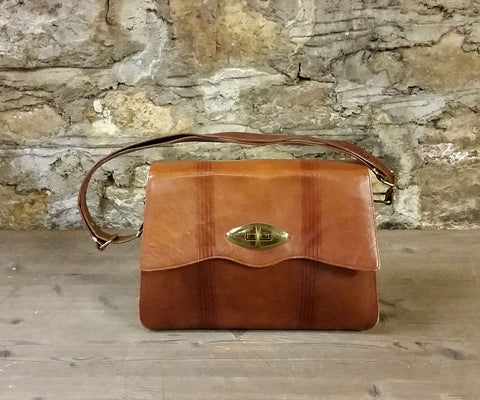 Vintage Meeker Cowhide Leather Purse