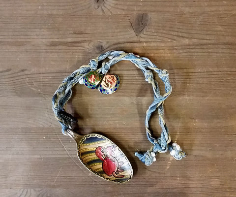 CORPIRATE Crab Spoon Necklace