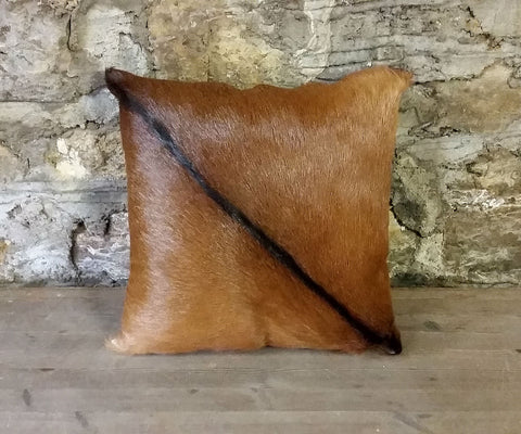 Goat Hide Pillow #5