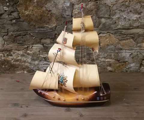 Dutch Wooden Shoe Ship