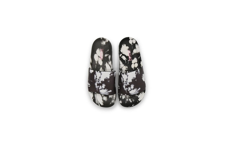 Women's Slides Thunderstrike Black White