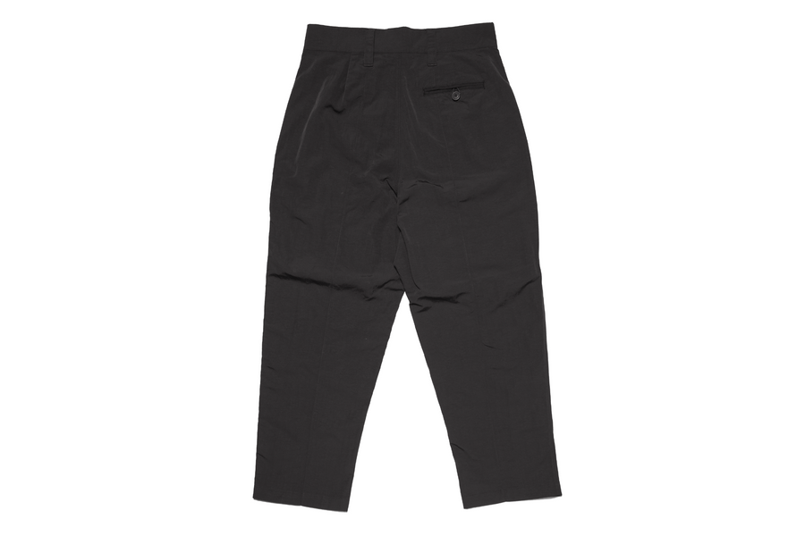 Cropped Loose Fit Pant Black