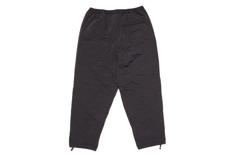 Quilted Tech Pant Black