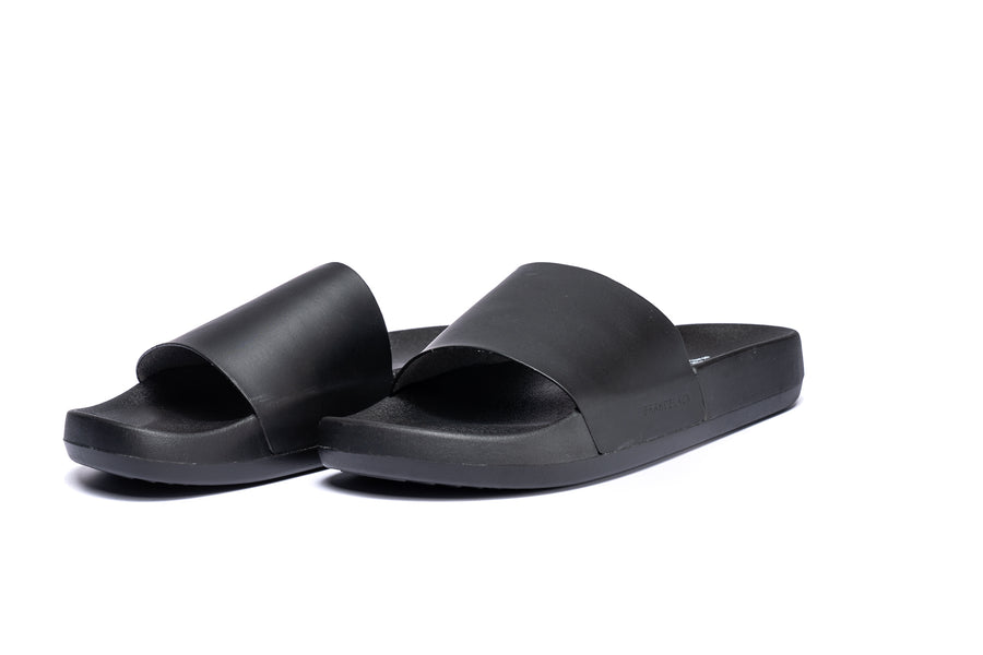 Men's Kashiba-Luxe Slides Basic Black