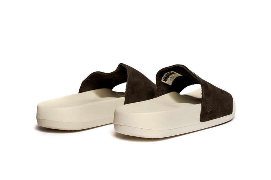 Men's Kashiba-Nubuck White Black