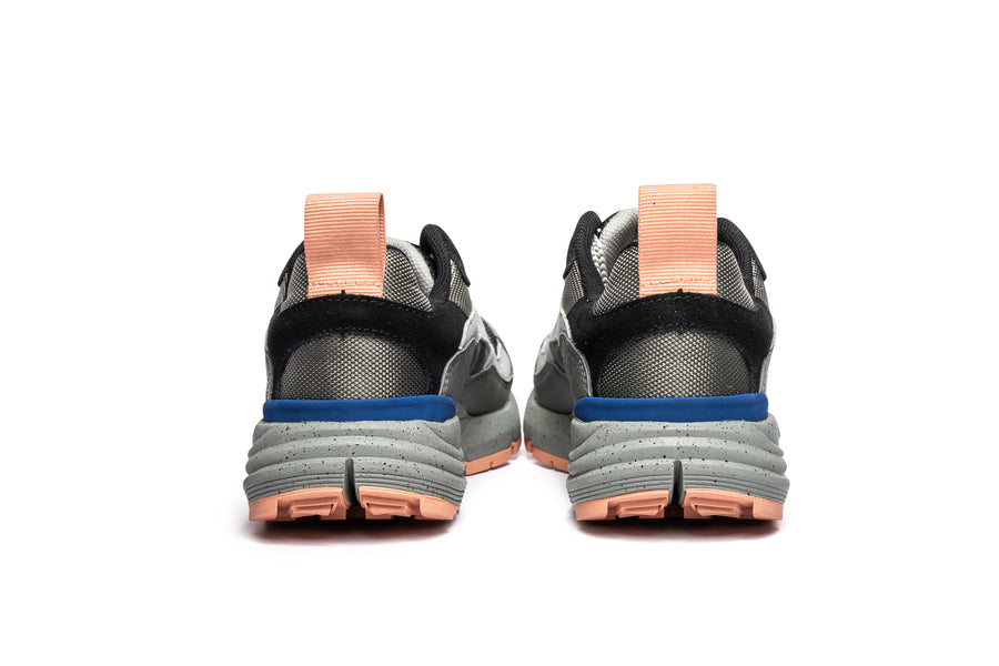 Men's Nomo Grey Blue Pink