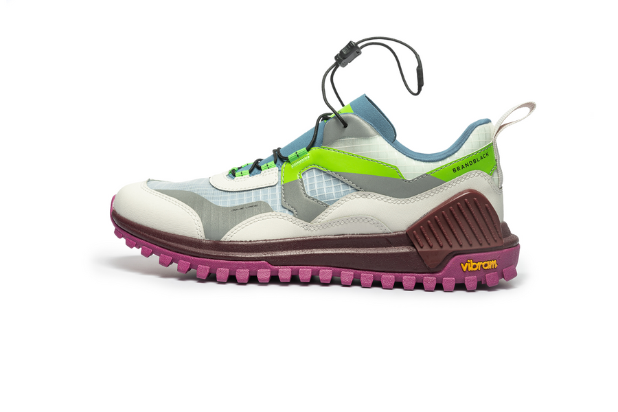 Women's Sierra White Lime Pink