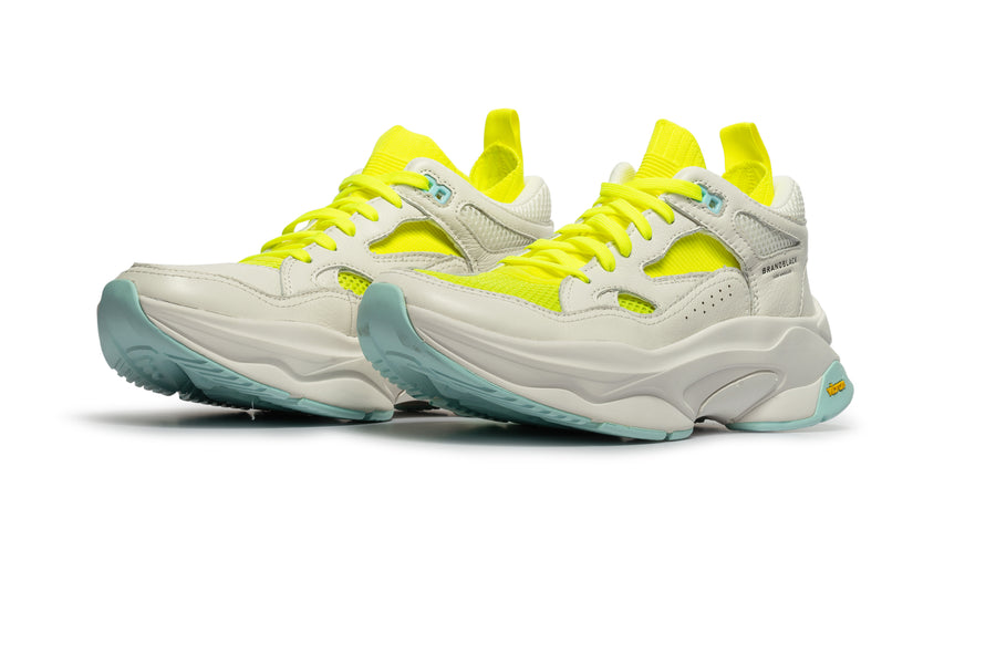 Women's Saga White Lime