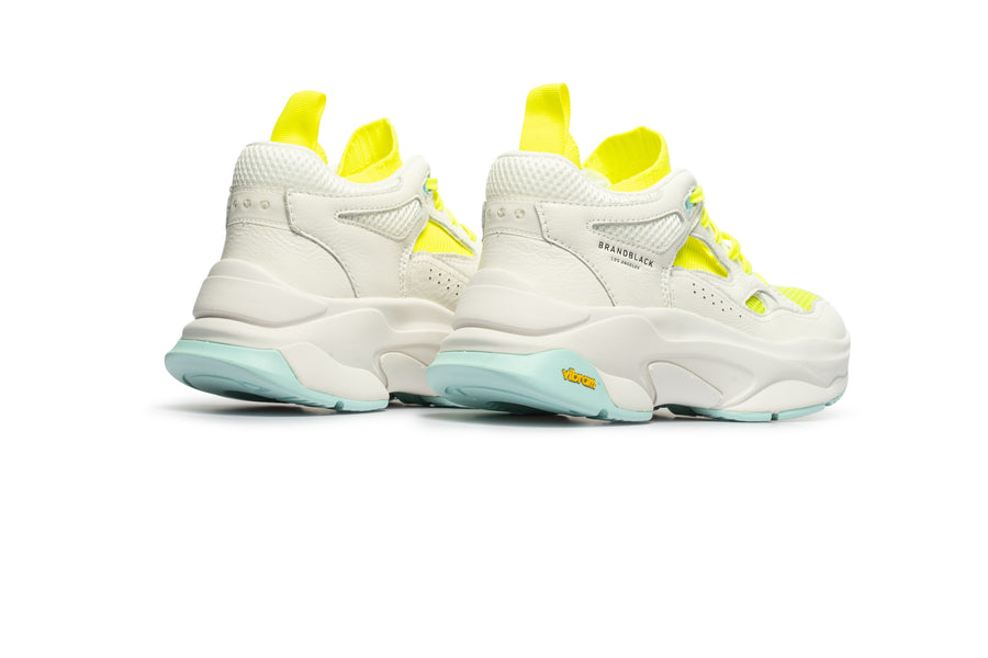 Men's Saga White Lime