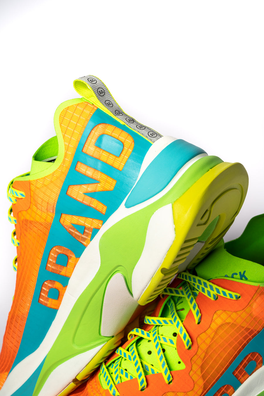 Men's Kite Racer Orange Lime