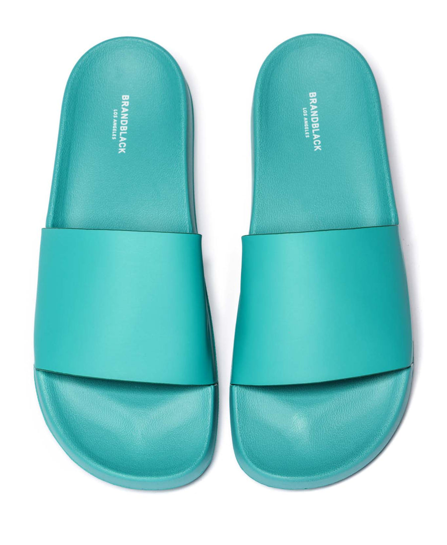Men's Kashiba-Luxe Slides Green