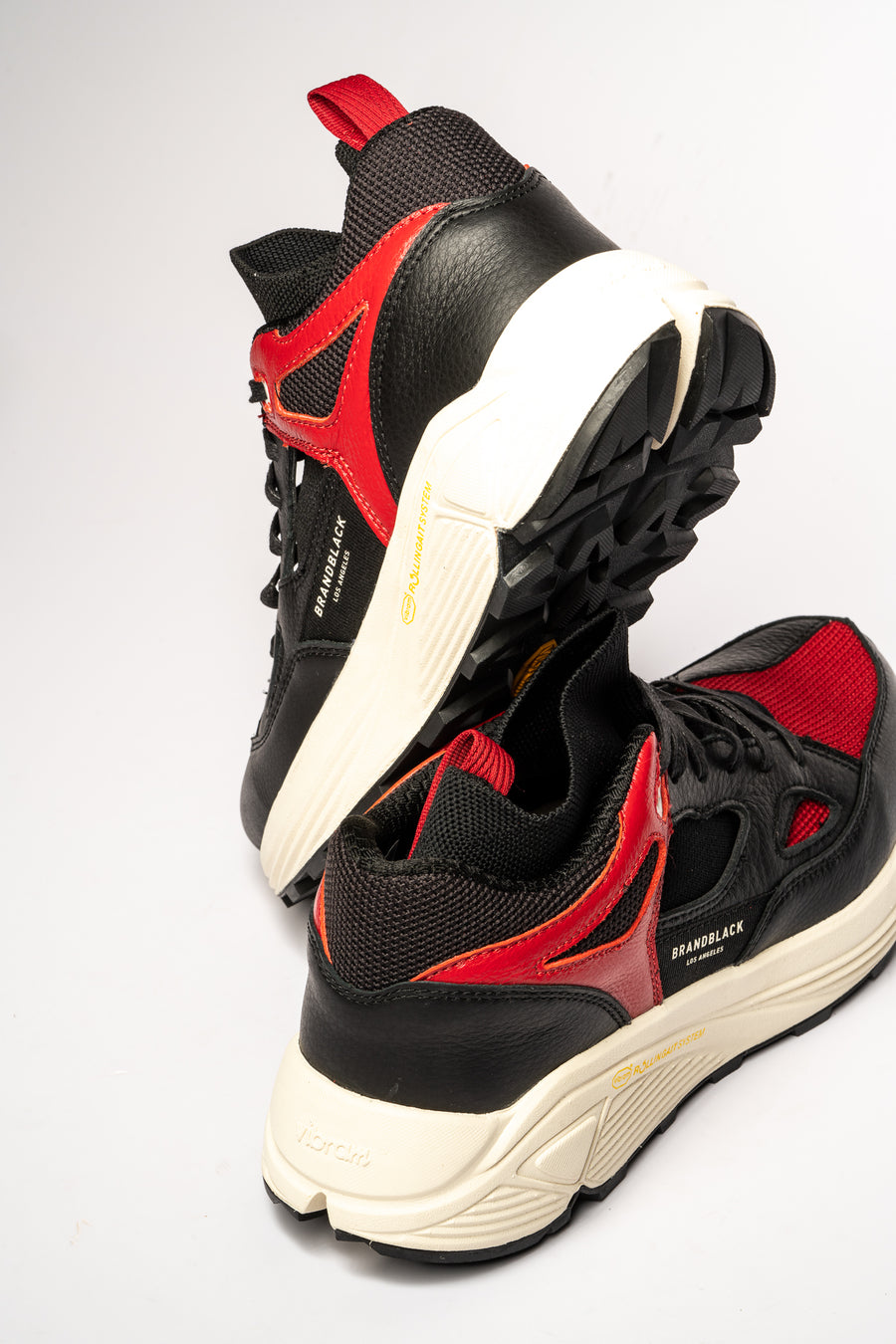 Men's Aura Black Red