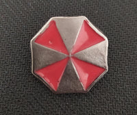 Resident Evil - Pin Metálico TooGEEK Logo Umbrella Color