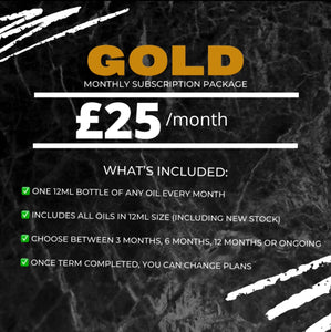 Gold Monthly Subscription Package (5873640079512)
