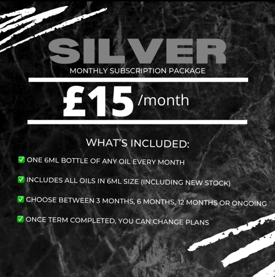 Silver Monthly Subscription Package (5873638146200)
