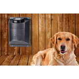 ClimateSAFE by ClimateRight Electric Heater and Bonus Internal Fan for Outdoor Dog, Pet and Animal Enclosures - Wall Mounted