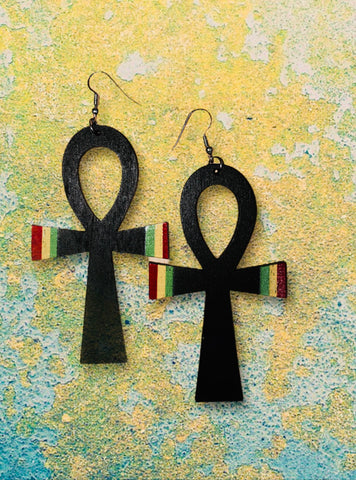 Black Feminine Power Earrings