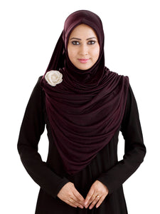 Mehar Hijab Modest Fashion Women's Stylish Wrap Around Hijab Anarkali