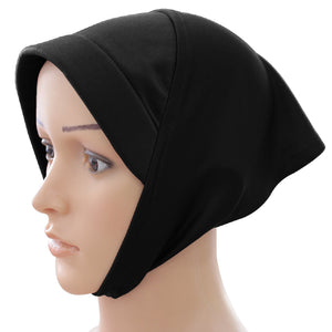 Mehar Hijab Women's Head Wrap  Stretchable under scarves /Chemo Sleep Cap/foam Cap/ for Women Multicolor Free Size Egyptian Sq foam Cap