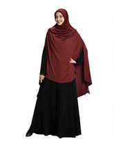 Load image into Gallery viewer, Maroon Colour Full covered Modest and Stylish Instant Hijab