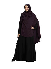 Load image into Gallery viewer, Wildberry Shade Long Frilled Women's mehar Hijab