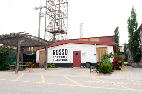 Industrial cafe and patio in Ramsay