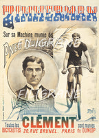 ZIMMERMAN CYCLISME Roaa-POSTER/REPRODUCTION  d1 AFFICHE VINTAGE
