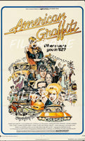AMERICAN GRAFFITI FILM Ragh-POSTER/REPRODUCTION d1 AFFICHE VINTAGE
