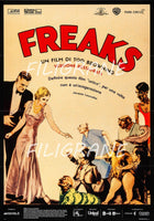 FREAKS FILM Rgel-POSTER/REPRODUCTION d1 AFFICHE VINTAGE