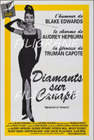 DIAMANTS sur CANAPé FILM Rwbh-POSTER/REPRODUCTION d1 AFFICHE VINTAGE