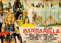 BARBARELLA FILM Rykp-POSTER/REPRODUCTION d1 AFFICHE VINTAGE