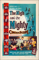 CINéMA THE HIGH and the MIGHTY Rapb-POSTER/REPRODUCTION d1 AFFICHE VINTAGE
