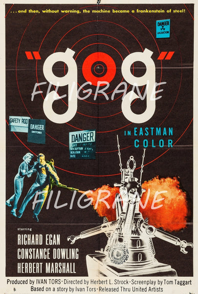 GOG FILM Rhfi-POSTER/REPRODUCTION d1 AFFICHE VINTAGE