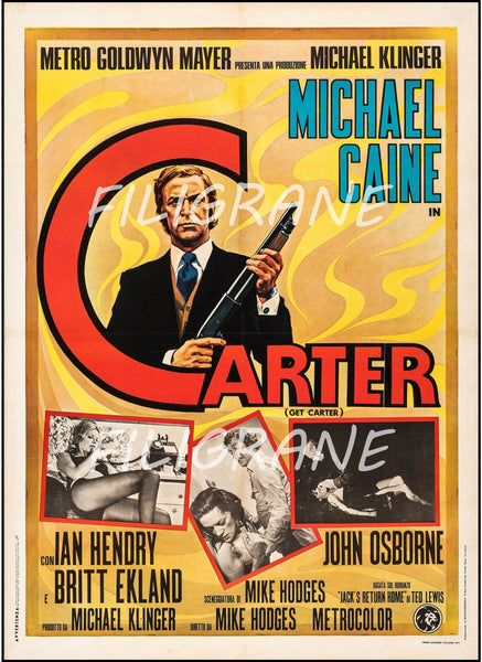 CARTER FILM Rvwf-POSTER/REPRODUCTION d1 AFFICHE VINTAGE