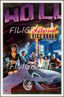 HOLLYWOOD VICE SQUAD FILM Rgle-POSTER/REPRODUCTION d1 AFFICHE VINTAGE