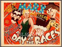 CINéMA A DAY at the RACES  Rtlx-POSTER/REPRODUCTION d1 AFFICHE VINTAGE