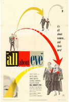 ALL about EVE FILM Rzor-POSTER/REPRODUCTION d1 AFFICHE VINTAGE