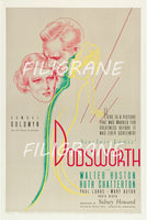 DODSWORTH FILM Rdoe-POSTER/REPRODUCTION d1 AFFICHE VINTAGE