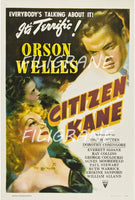 CITIZEN KANE FILM Rruq-POSTER/REPRODUCTION d1 AFFICHE VINTAGE
