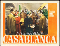 CASABLANCA FILM Rfvi-POSTER/REPRODUCTION d1 AFFICHE VINTAGE